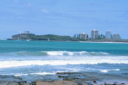 stoney: Stoney beach, Sunshine Coast Stock Photo