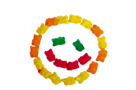 Gummi bears  smiley face photo