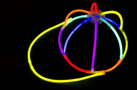 glow stick: Glow stick hat