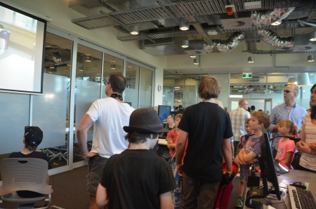 electronica: Robot show;  a free event for all ages at QUT s new Science and Engineering Centre , George St ,on Sunday, August 18,2013, at 11am  - 7 pm