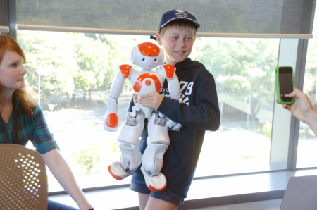Robot show;  a free event for all ages at QUT s new Science and Engineering Centre , George St ,on Sunday, August 18,2013, at 11am  - 7 pm