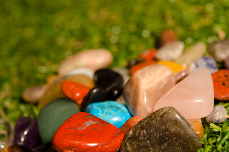 Gemstones with different colours