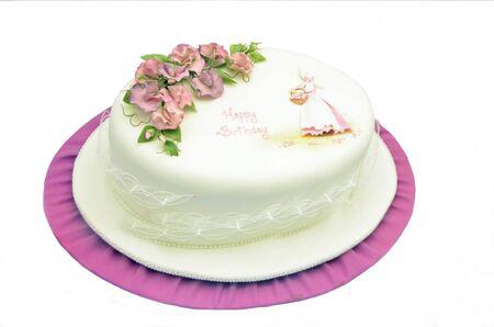 decoracion de pasteles: Decoraci�n de pasteles, torta de cumplea�os Foto de archivo