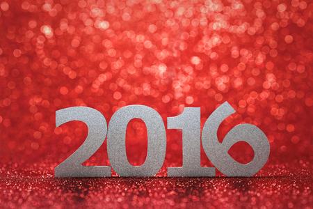 Año nuevo 2016 Foto de archivo - 45452611