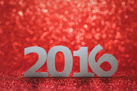 kalendarz: nowy rok 2016 Zdjęcie Seryjne