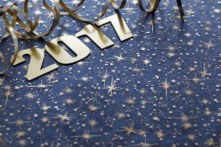 kalender: Frohes Neues Jahr 2017 Lizenzfreie Bilder