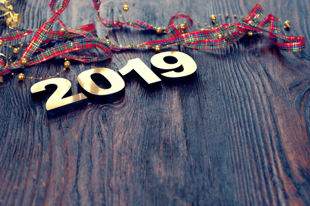 Happy New Year 2019 Stock fotó