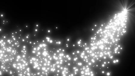 partículas con gas