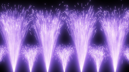vuurwerk Stockfoto