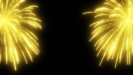 commemorate: fireworks Stock Photo
