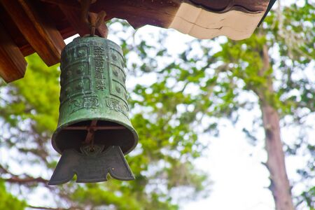 japanese temple: bell of Japanese temple