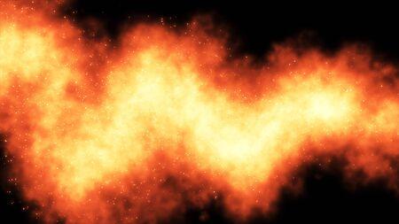 snaky: Snaky flames Stock Photo