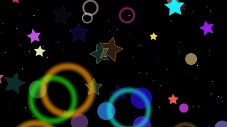 particle: particle background
