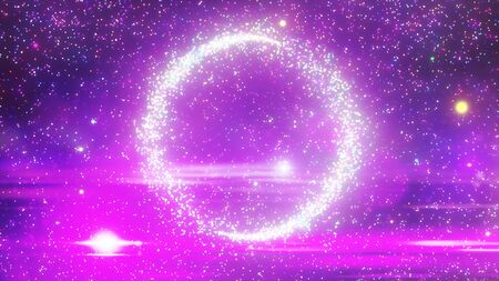 Sparkling particle background