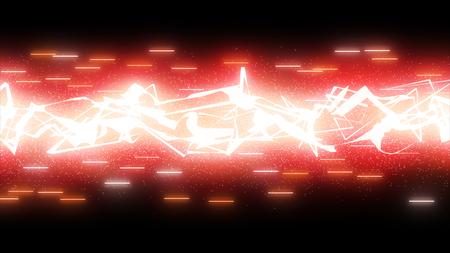 sparkling thunder effect