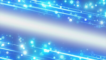 sparkling graphic particles and shiny lines