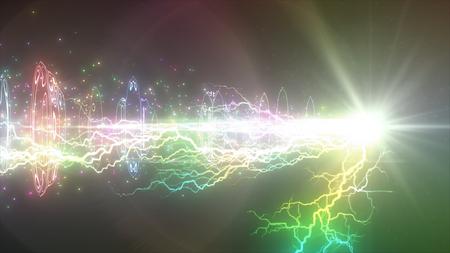 lightning beam and hoops
