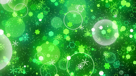 vj: transition effect of sparkling graphic particles