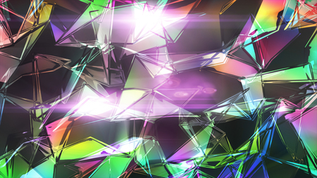 vj: glass texture background