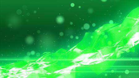 ガラスと粒子の背景