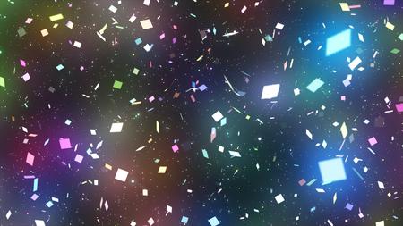 sparkling graphic particles Stock fotó
