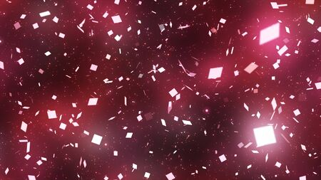 sparkling graphic particles 写真素材