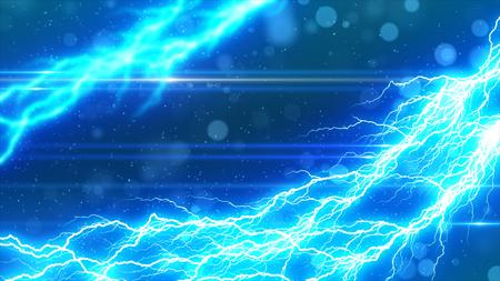 雷とスパーク リングの背景
