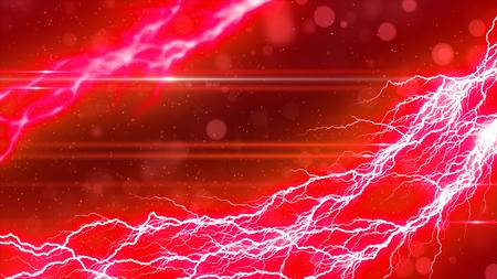 Lightning and sparkling background Stock fotó
