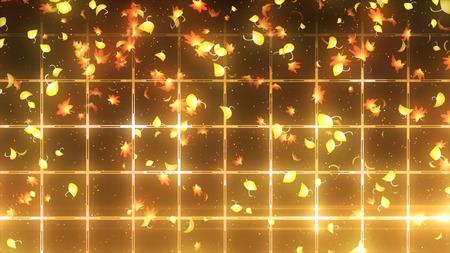 background image of maple leaves Stock Photo