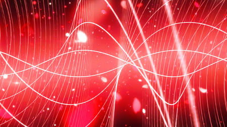 sparkling graphic particles Stock Photo