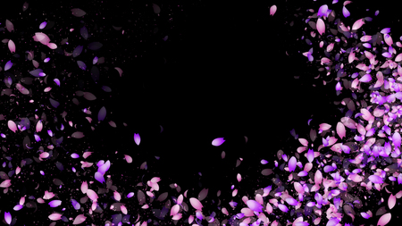 Sparkling graphic particles
