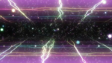 visual effects of sparkling graphic particles 版權商用圖片