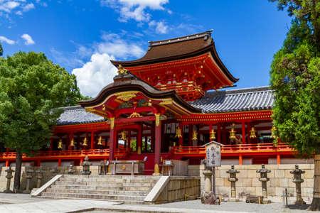 Iwashimizu hachimangu temple in Kyoto, Japan