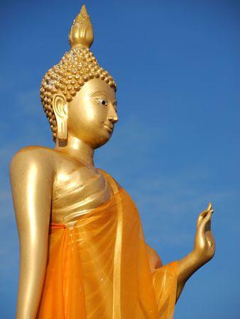 loin: Bouddha en Tha�lande  Banque d'images