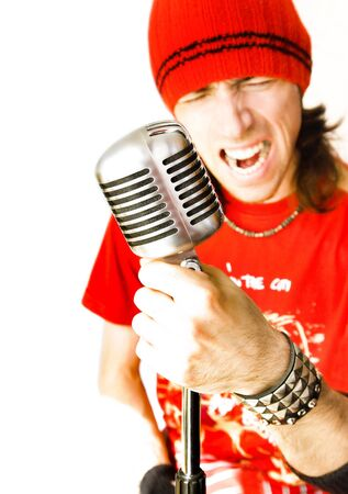 shure: Rock Star Stock Photo