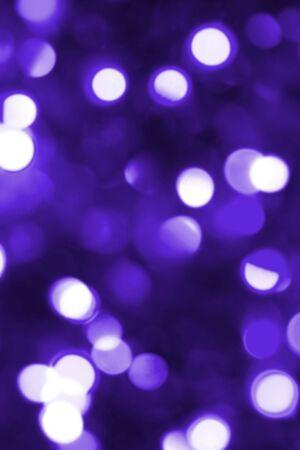 blue toned: Tonica magia blu luci di Natale  Archivio Fotografico