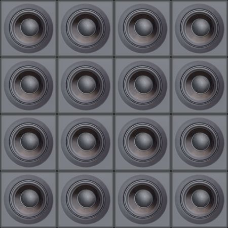 Wall Of Speakers (Design Element) Stock Photo - 633303