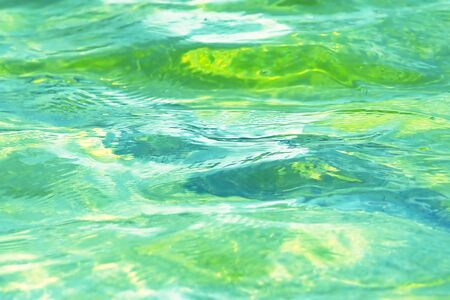exotic gleam: Clean & Blue Tropical Water Background (Close Up)