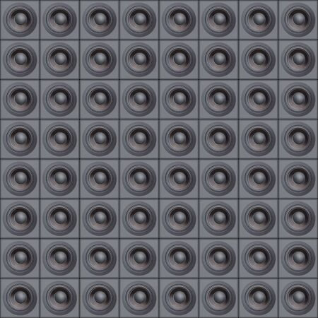 Wall Of Speakers Background Stock Photo - 647589