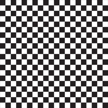 Checker Flag Stock Photo