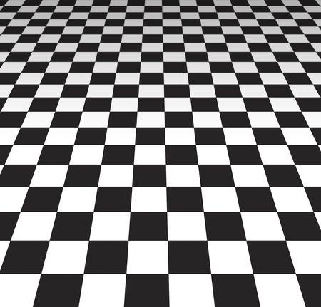 racer flag: Checker Board