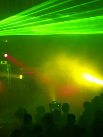 strobe: People At The Concert (Light Show)