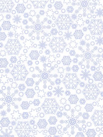cold pack: Frosen Window Pattern: Snowflakes On White