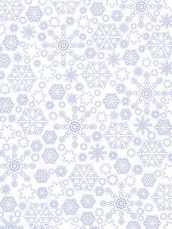 casing: Frosen Window Pattern: Snowflakes On White