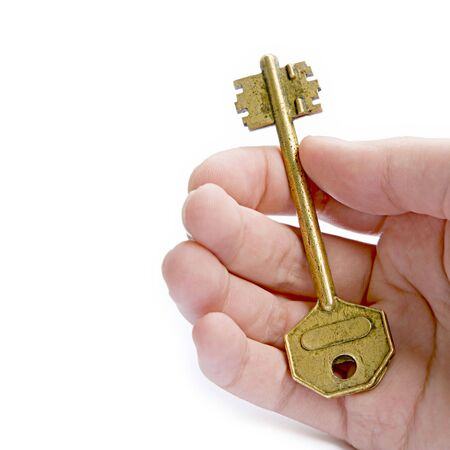 trusty: Solution (Golden Key In A Hand)