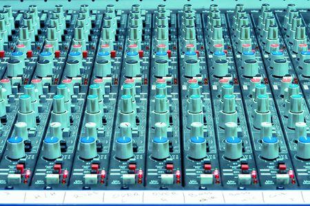 Professional StudioConcert Sound Mixing Console photo