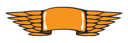 Flying Banner (Heading Frame) Stock Vector - 791559