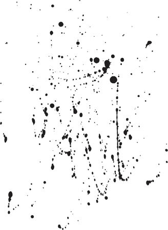 Ink Spatters-3 Vector