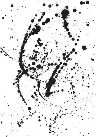 Ink Spatters-2 Illustration