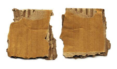 Old Cardboard Scraps photo
